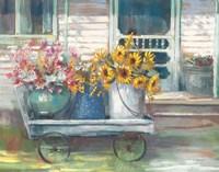 Garden Wagon Bright Fine-Art Print