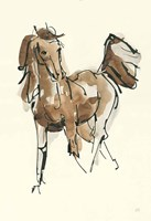 Sketchy Horse VI Fine-Art Print