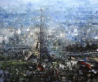 Blue Paris Fine-Art Print
