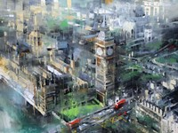 London Green - Big Ben Fine-Art Print