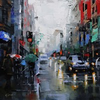 St. Catherine Street Rain Fine-Art Print