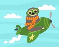 Airborne Sloth Fine-Art Print