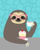 Diva Sloth Fine-Art Print