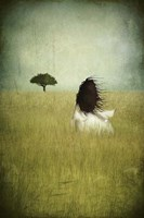 Girl on the Field Fine-Art Print