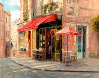 Hillside Cafe Fine-Art Print