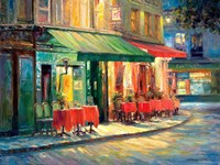 Red & Green Cafe Fine-Art Print