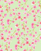 Cherry Blossom Green Fine-Art Print