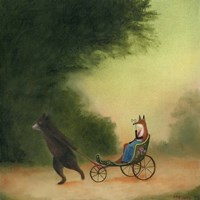 La Passeggiata of the Lady Dowager Fine-Art Print