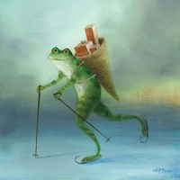 The Yuletide Frog Fine-Art Print