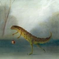 The Yuletide Newt Fine-Art Print