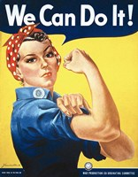 Rosie the Riveter Fine-Art Print