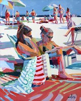 Beach Gossip Fine-Art Print