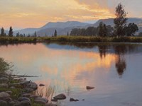 Tranquil Evening Fine-Art Print