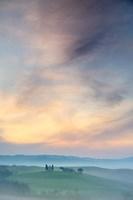 Capella di Vitaleta at Dawn - Tuscany II Fine-Art Print