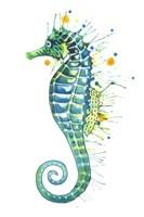 Green Seahorse Fine-Art Print