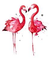 Pink Flamingos Fine-Art Print