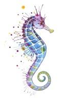 Purple Seahorse Fine-Art Print