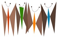 Butterflies - Browns Fine-Art Print