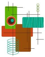 Modop in Green Fine-Art Print