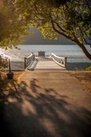 Crescent Lake Pier Fine-Art Print