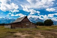 Grand Teton Barn I Fine-Art Print