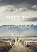 Get Lost Fine-Art Print