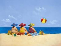 Three Ladies Sunning Fine-Art Print