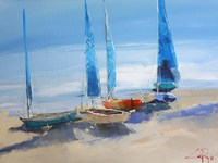 Before The Sail Fine-Art Print