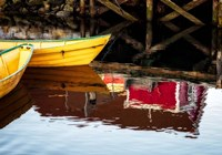 Dories and Reflection Fine-Art Print