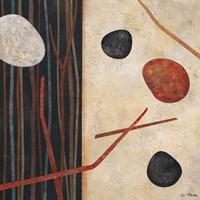 Sticks and Stones I Fine-Art Print