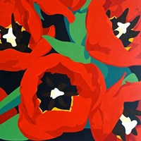 Red Tulips Fine-Art Print