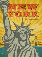 New York - The Empire State Fine-Art Print