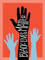 Black Lives Matter - Hands Fine-Art Print