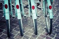 Bicycle Line Up 1 Fine-Art Print
