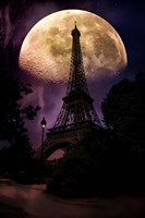 Moonlight in Paris Fine-Art Print