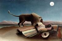 The Sleeping Gypsy, 1897 Fine-Art Print