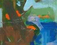 Blue Pool Fragment 3 Fine-Art Print