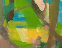 Lime Yellow Fragment 10 Fine-Art Print