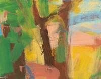 Peach Shore Fragment 5 Fine-Art Print