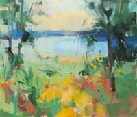 The Bluest Shore Fine-Art Print