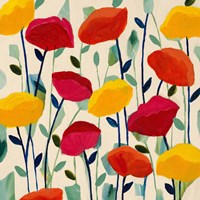 Cheerful Poppies Fine-Art Print