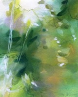Verdant Shallows I Fine-Art Print