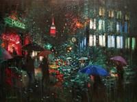Night Rain in NY Fine-Art Print