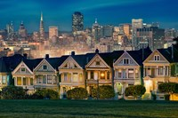 Painted Ladies Fine-Art Print