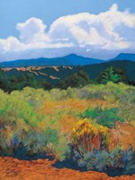 Distant Hills Fine-Art Print