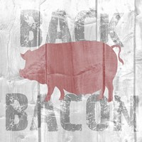 Back Bacon Fine-Art Print