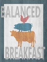 Balanced Breakfast One Fine-Art Print