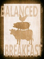 Balanced Breakfast Two Fine-Art Print