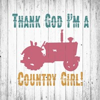 Country Girl Fine-Art Print