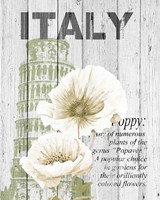 Italy Poppies Fine-Art Print
